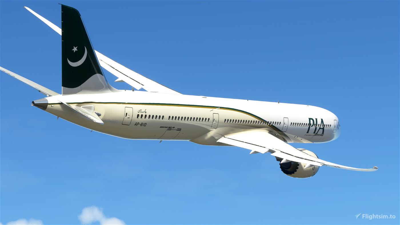 Pakistan International Airlines B787-10 PIA (AP-BID)
