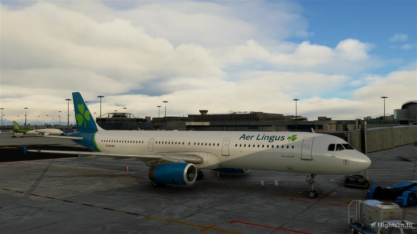 Aer Lingus A321-200 (Project Megapack) [4k] Flight Simulator 2020