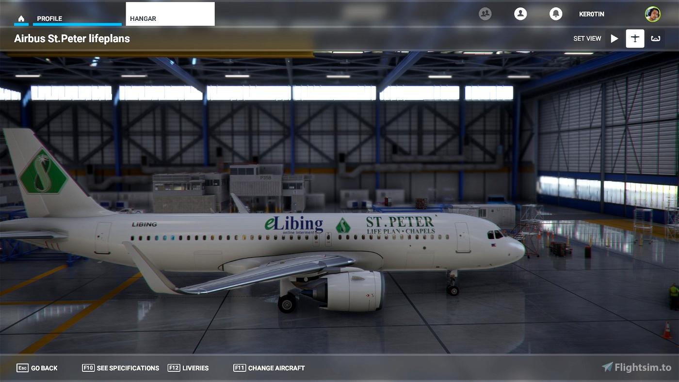 A32NX St. Peter Lifeplans A320