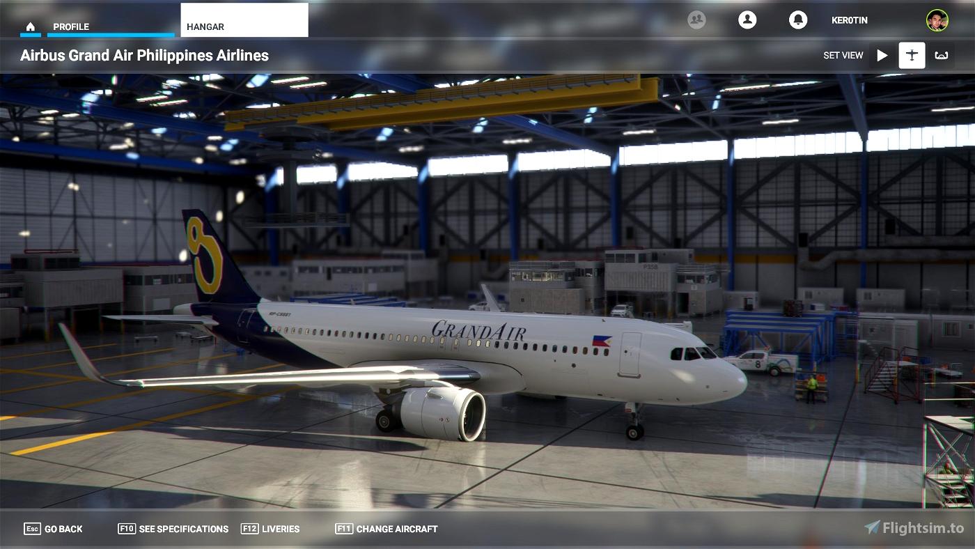 GrandAir Philippines Flight Simulator 2020