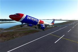 New England Patriots Image Flight Simulator 2020