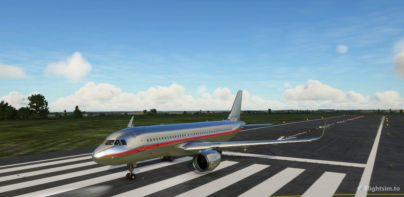 VistaJet a320neo  Flight Simulator 2020