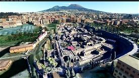 Archeological site of Herculaneum  Microsoft Flight Simulator