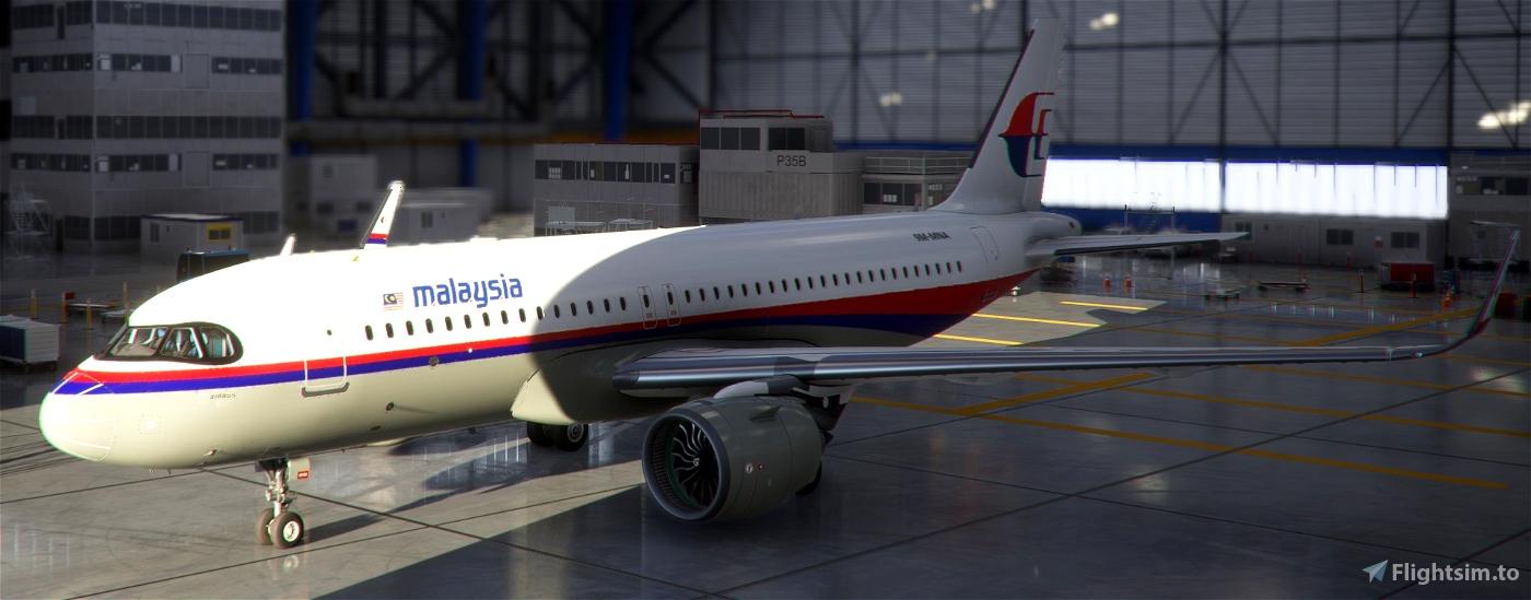 Malaysian Aviation Group A320 Neo