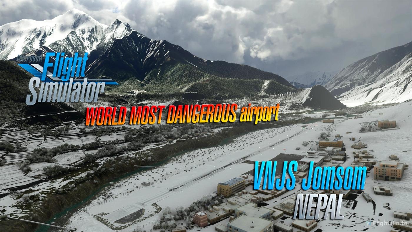 Jomsom Airport VNJS (Nepal) V1.4 Microsoft Flight Simulator