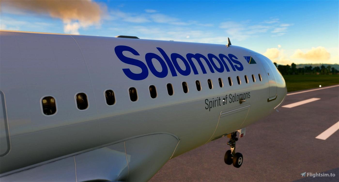 [8K] Solomon Airlines Flight Simulator 2020
