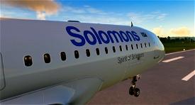 [8K] Solomon Airlines Image Flight Simulator 2020