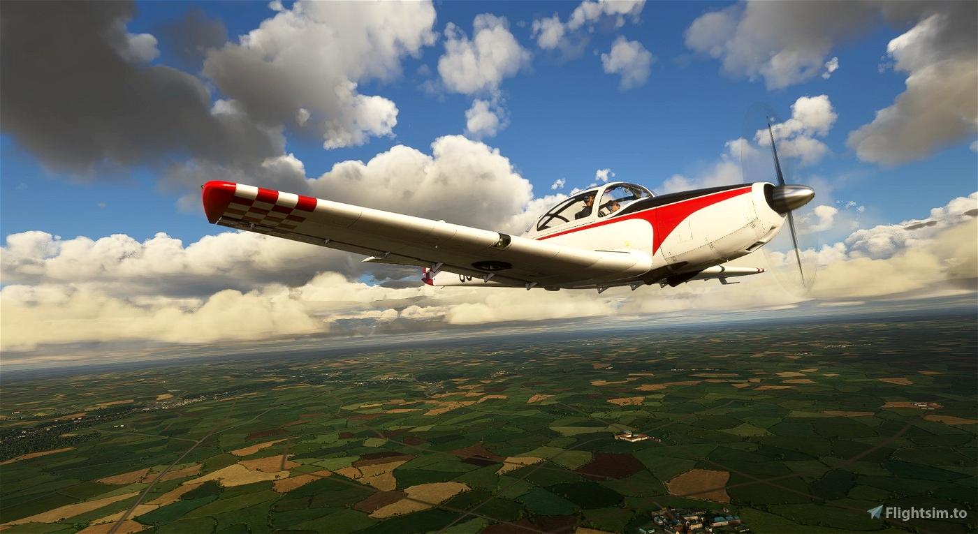 Piaggio P.149 OO-MEL Flight Simulator 2020