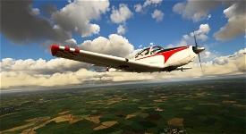 Piaggio P.149 OO-MEL Image Flight Simulator 2020