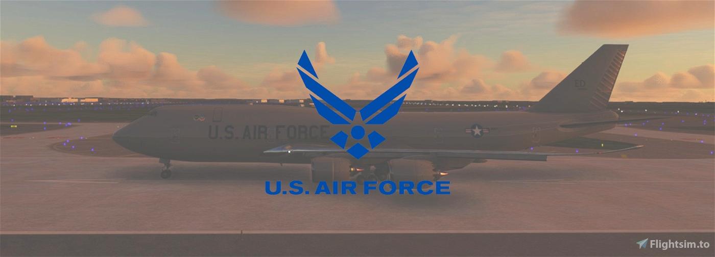 USAF 747-8i (00-0001) Microsoft Flight Simulator