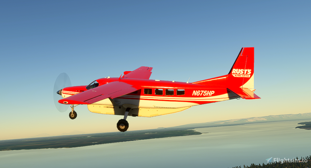 Rust's Flying Service C208