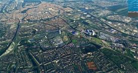 Groningen - Kempkensberg Euroborg Mesdagkliniek Image Flight Simulator 2020