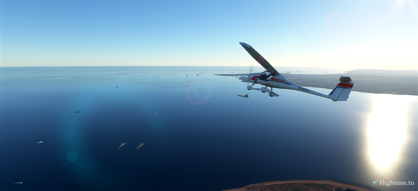 Isle Of Wight - Solent - Southampton Ships Flight Simulator 2020