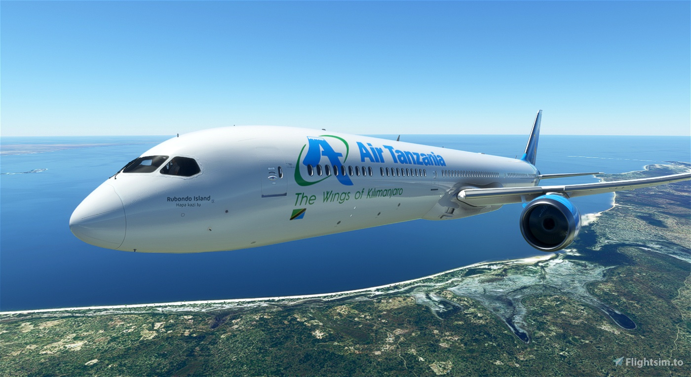 Air Tanzania 787-10 [4K] Flight Simulator 2020
