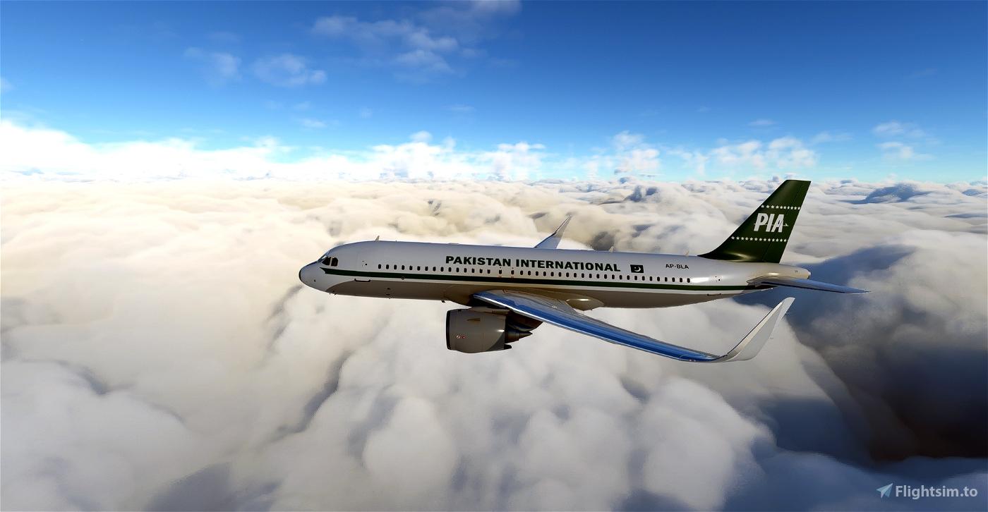 Pakistan International Airlines Retro [1960] Livery [4k]