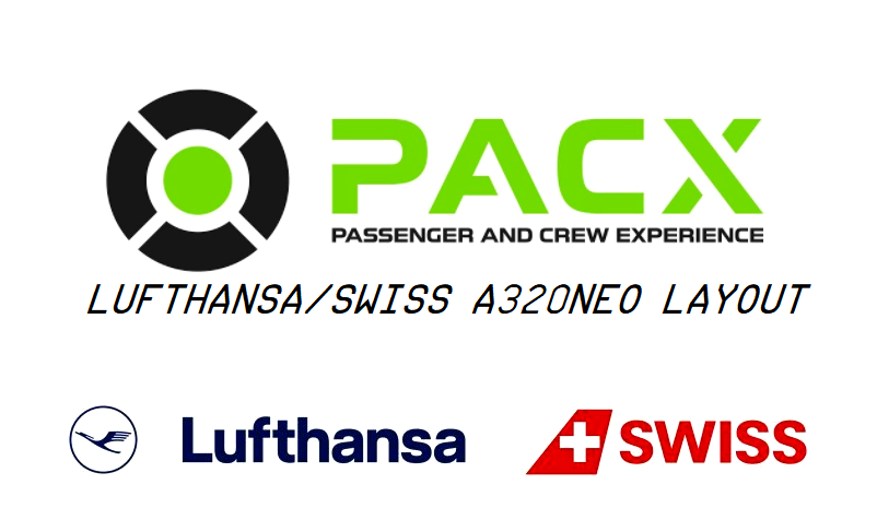 Lufthansa/Swiss a320neo layout for PACX