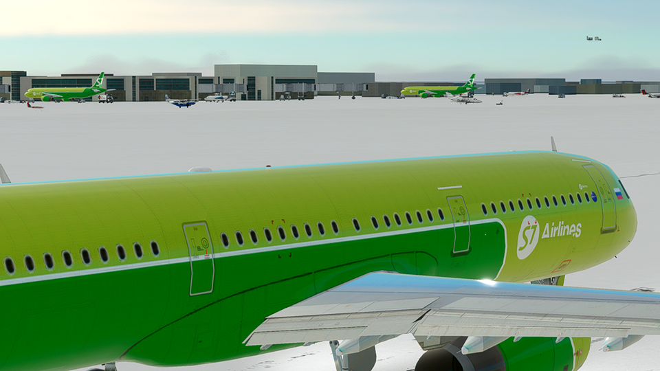 S7 Airlines [4K]