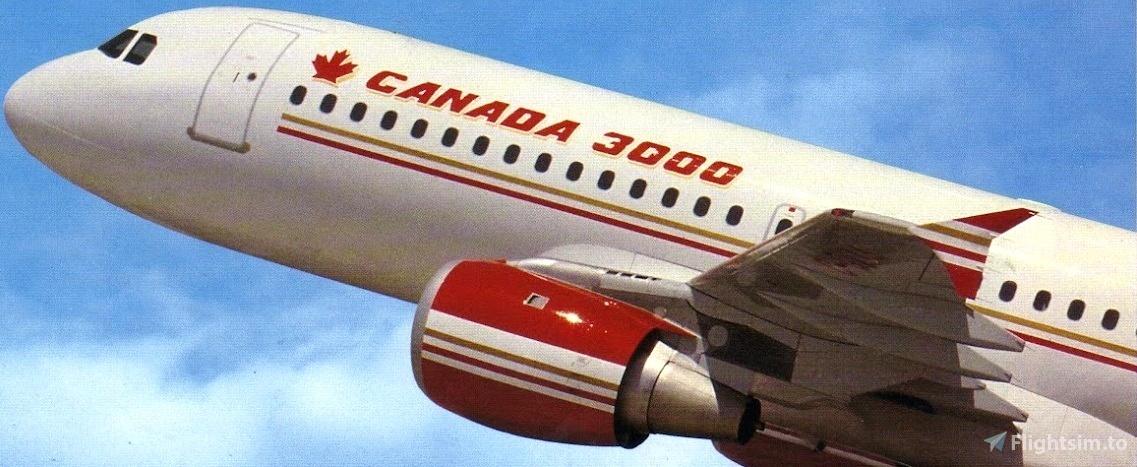 Canada 3000 safety (B757) and Boarding music Flight Simulator 2020