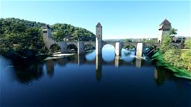 Pont Valentré, Cahors Image Flight Simulator 2020
