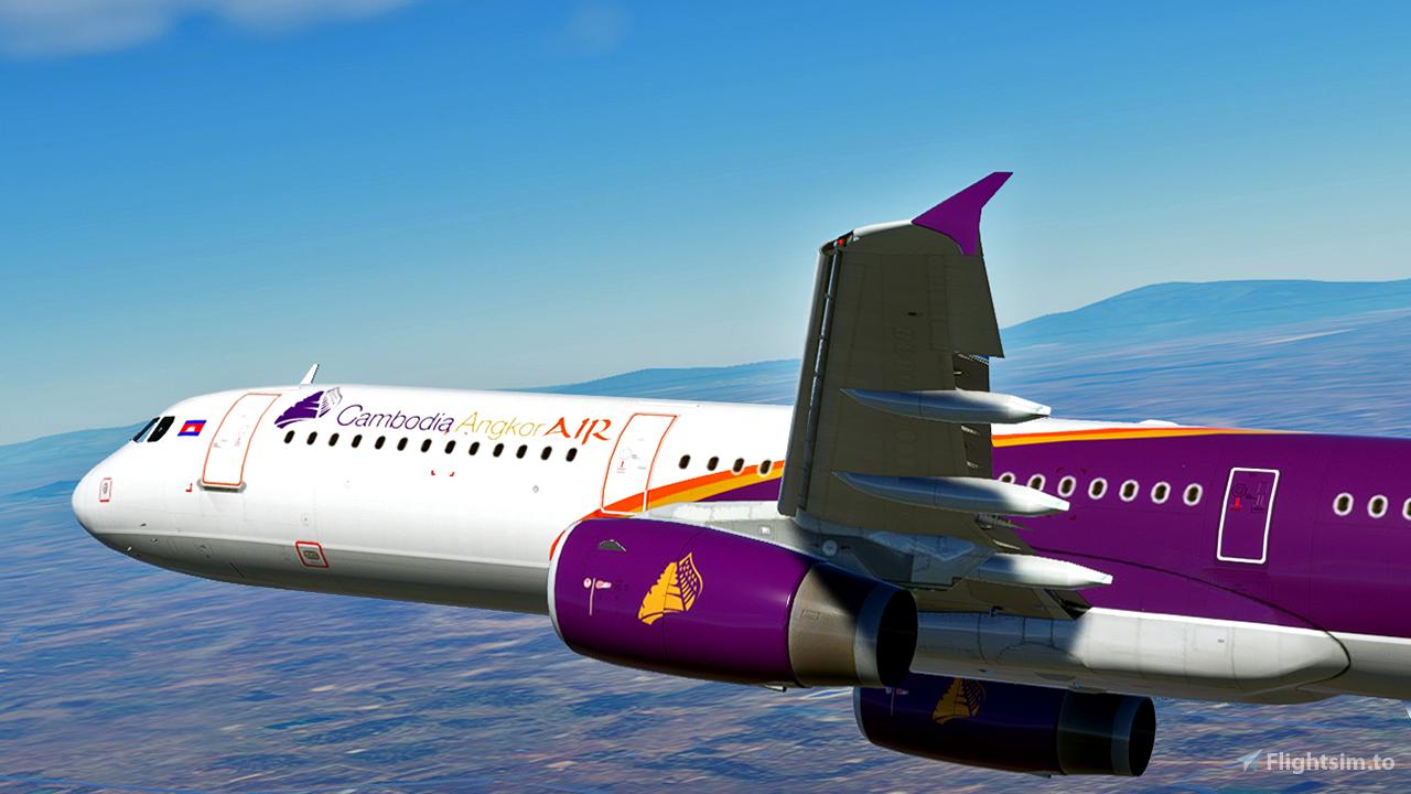 Cambodia Angkor Air [4K] Flight Simulator 2020