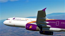 Cambodia Angkor Air [4K] Image Flight Simulator 2020