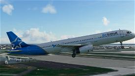 [8K] Air Transat A321 livery Image Flight Simulator 2020