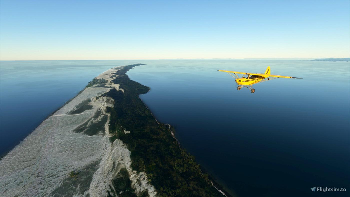 Bushtrip/Wildnisflug (NZPM-NZMC) English/German Flight Simulator 2020