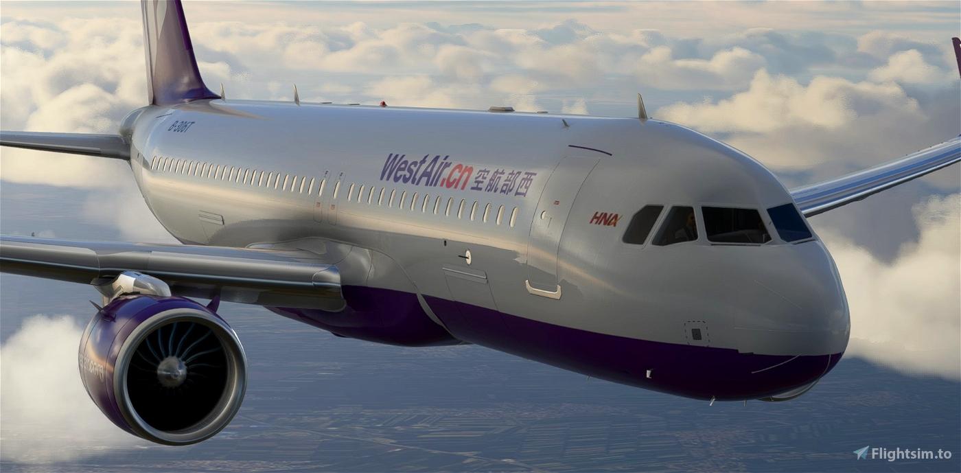 West Air A320neo Flight Simulator 2020