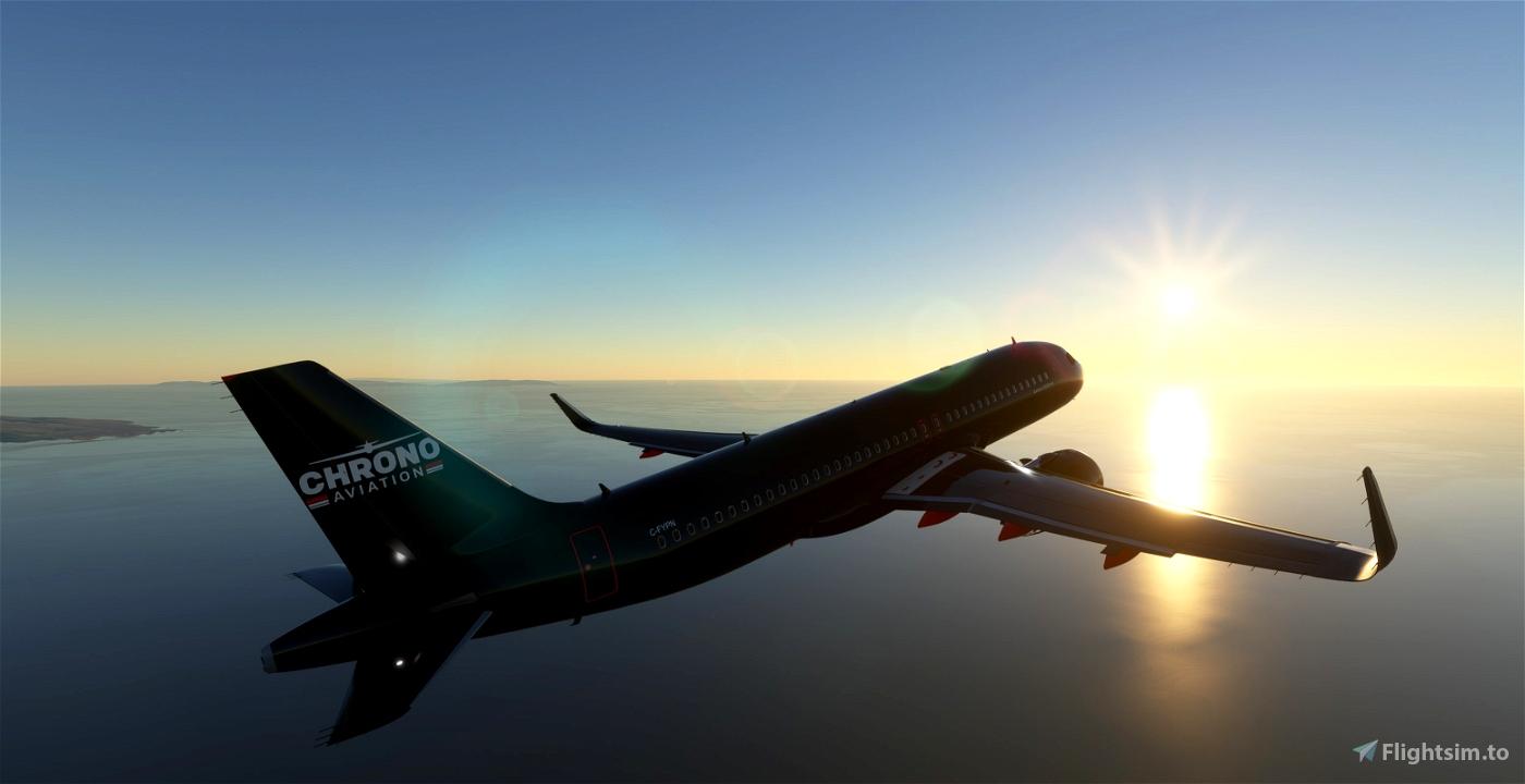 A320Neo Chrono Aviation -8K Flight Simulator 2020