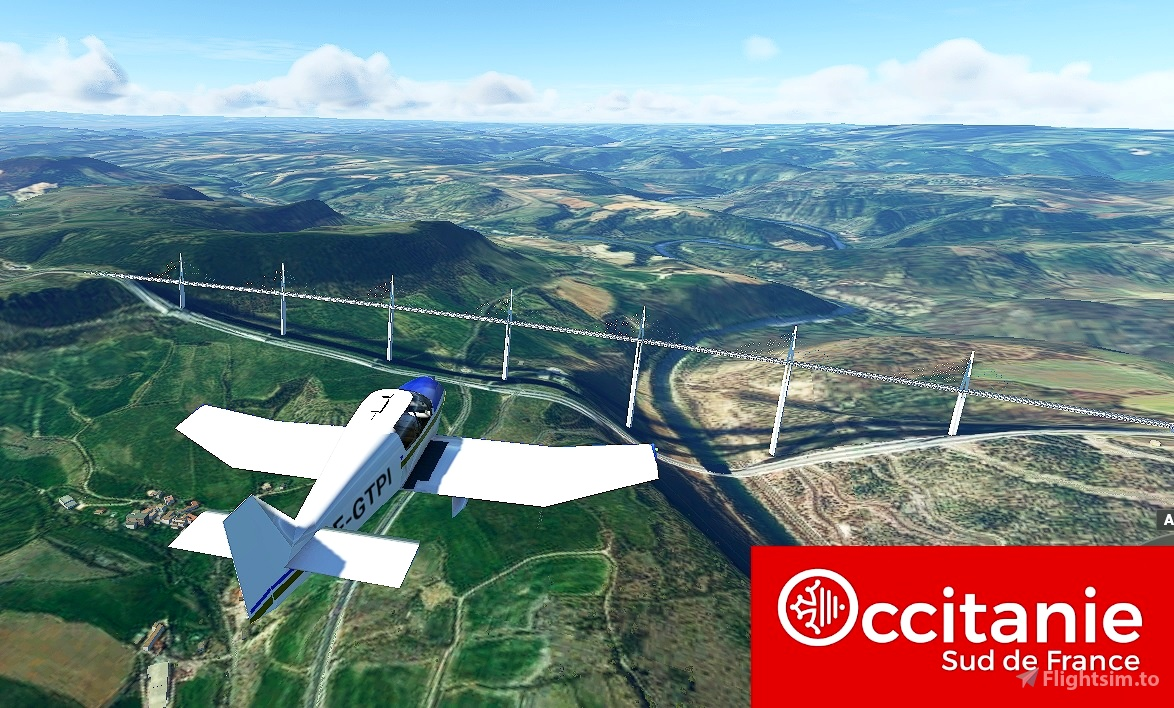 Occitanie Trip, welcome to the South of France! Flight Simulator 2020