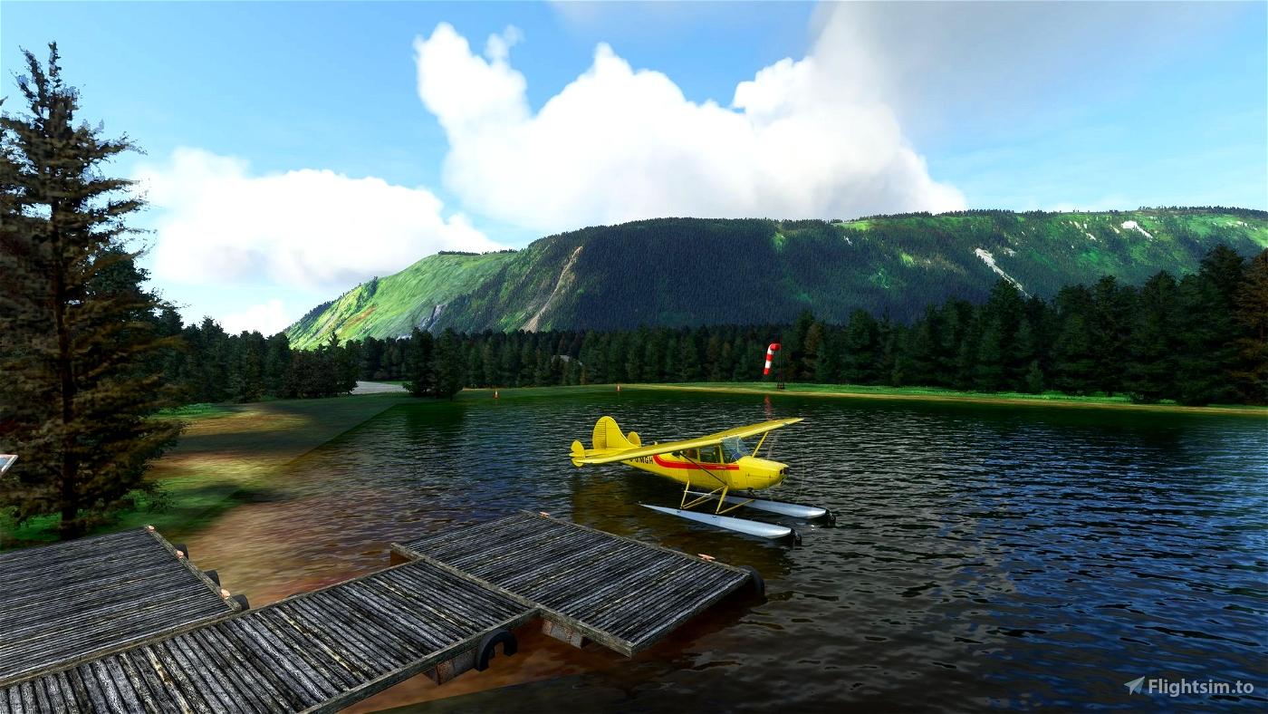 Afognak Island Seaplane base, Alaska