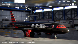A.C. Milan A320 Neo Livery (Concept) Image Flight Simulator 2020