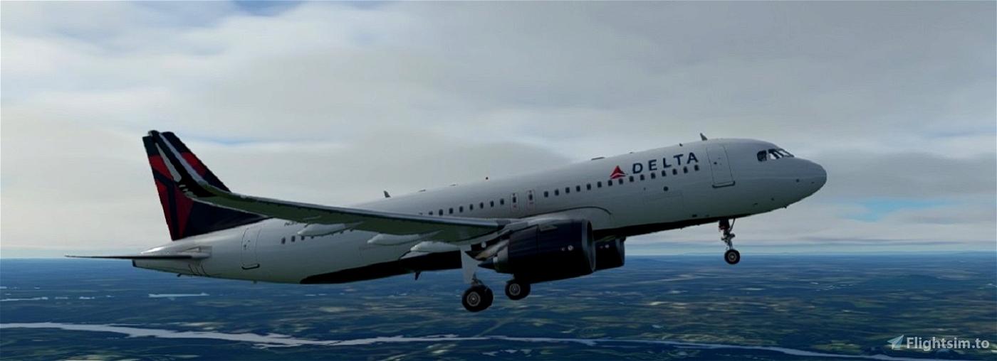 Delta Airlines | Airbus A320neo Flight Simulator 2020