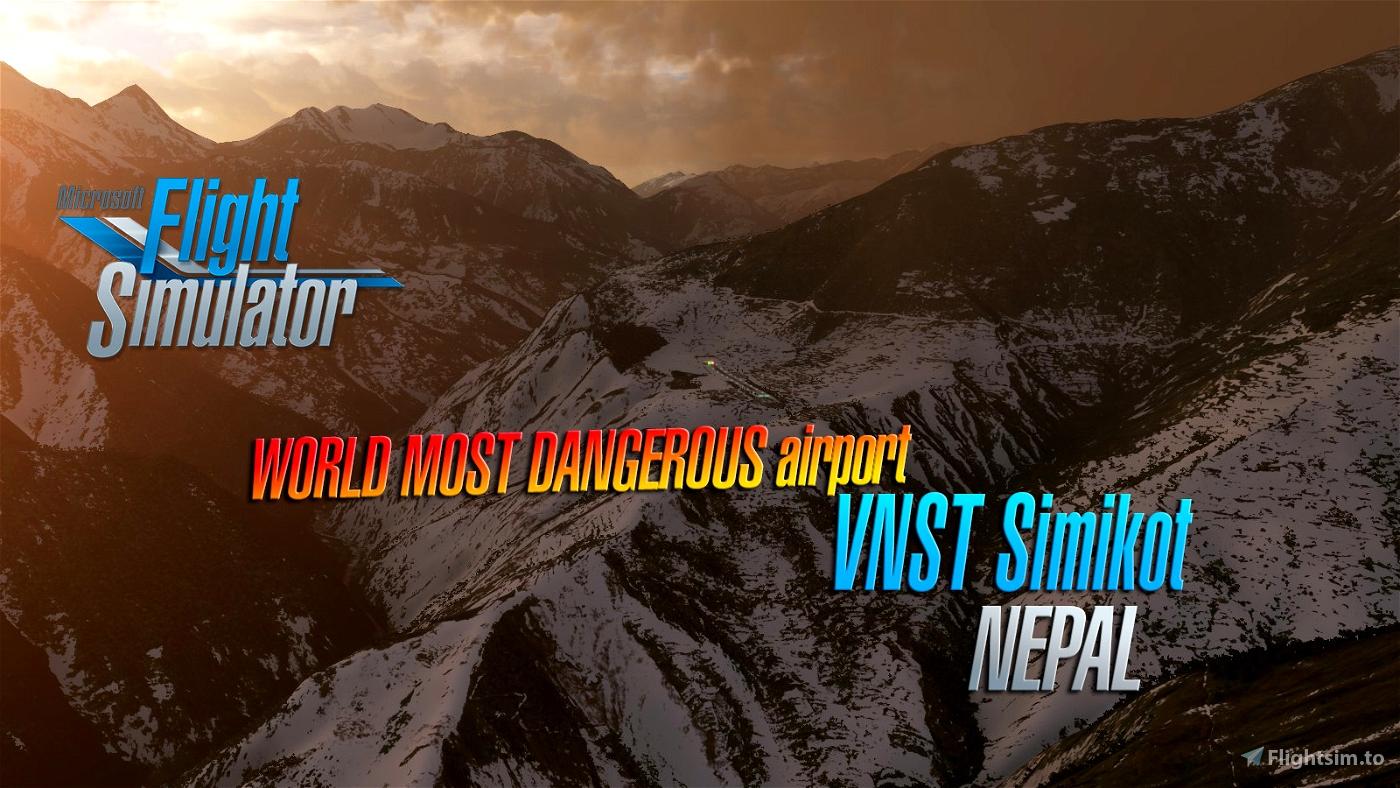 Simikot Airport VNST (Nepal)  v1.4 Microsoft Flight Simulator