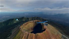 Vesuvio  Microsoft Flight Simulator
