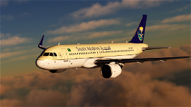 [4K Downscaled] Saudi Arabian Airlines A320neo Image Flight Simulator 2020
