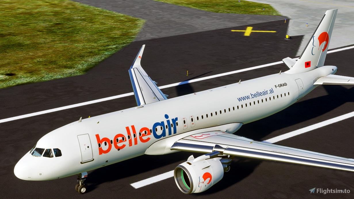 Belle Air [4K] Flight Simulator 2020