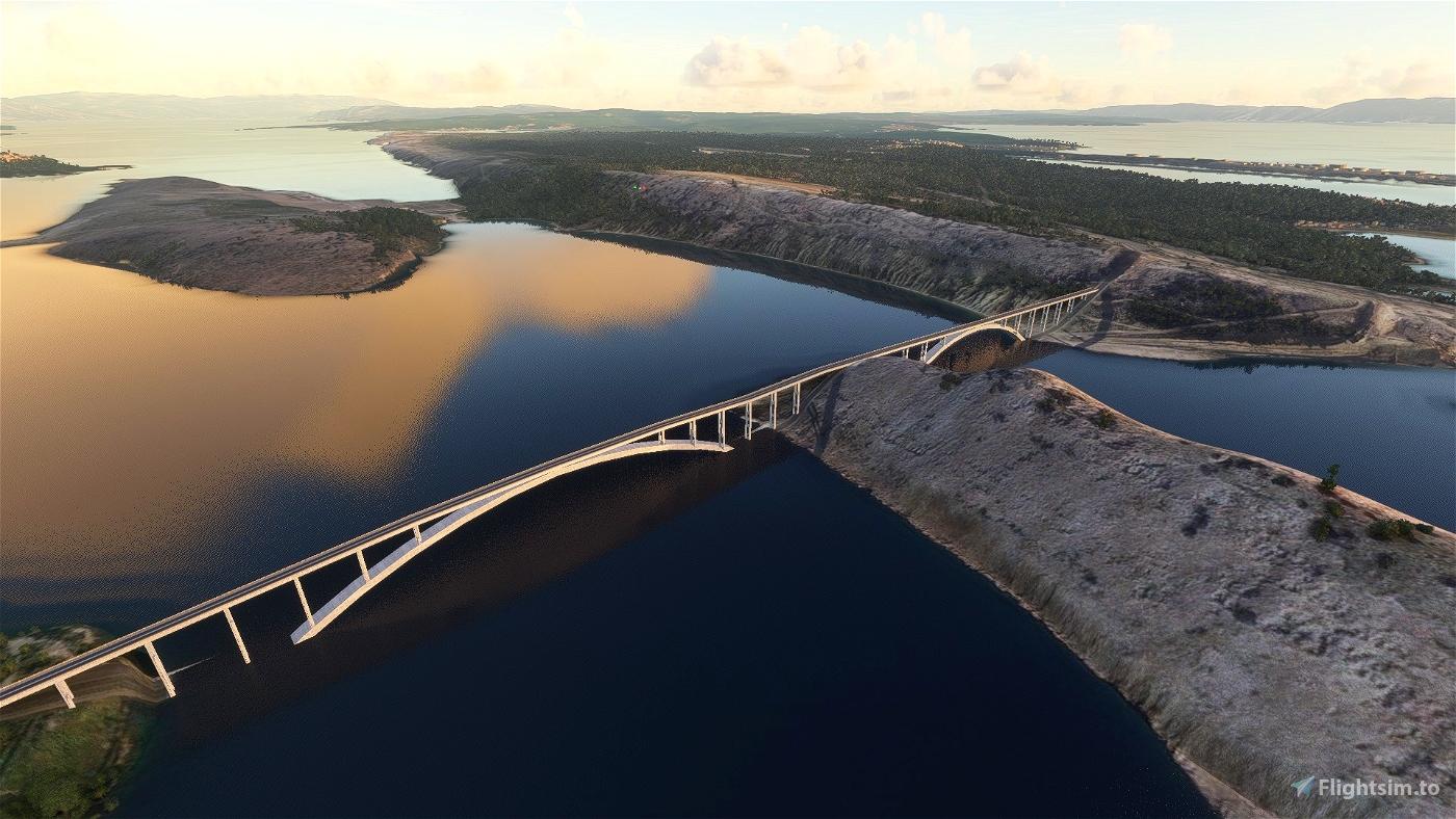 Krk Bridge (Krčki most)