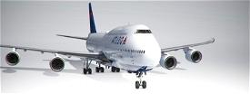 747-8I Delta (4k, Left Side, Working) Image Flight Simulator 2020