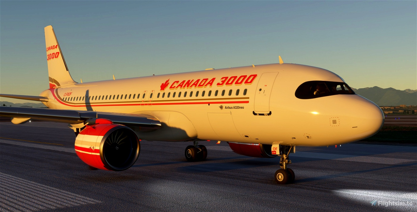 A320Neo Canada 3000 -8K