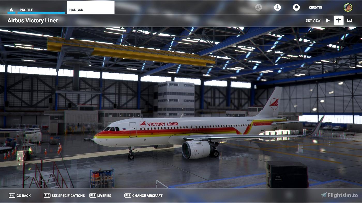 A32NX Victory Liner A320 Neo Flight Simulator 2020