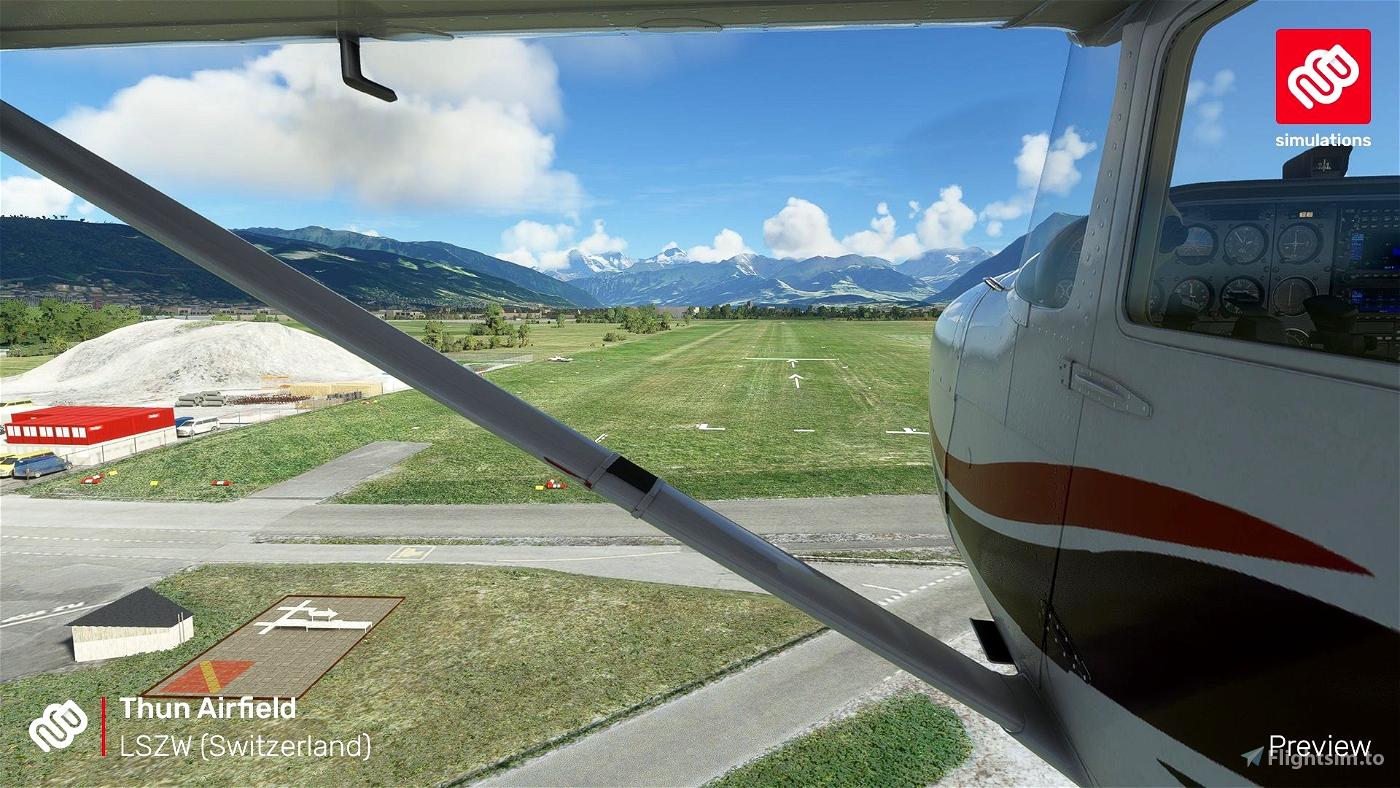 LSZW – Thun Airfield
