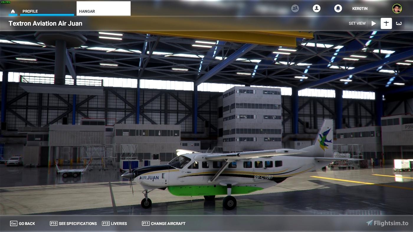 Air Juan C208B Flight Simulator 2020
