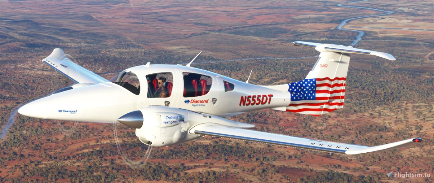 Diamond Flight School Flight Simulator 2020
