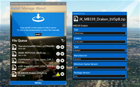 Package Manager for MSFS Image Flight Simulator 2020
