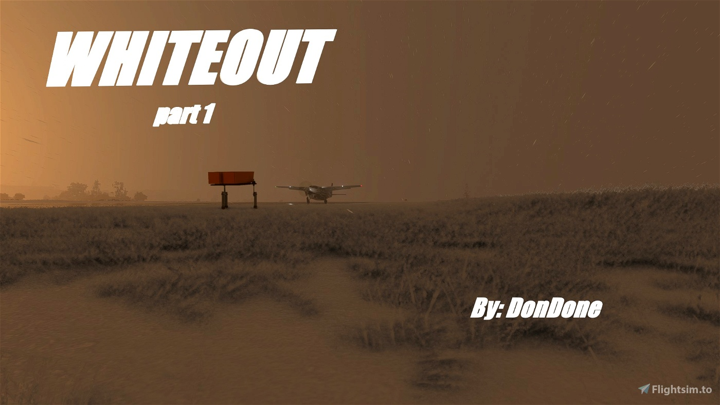 Whiteout Story Mission (part 1/5) Flight Simulator 2020