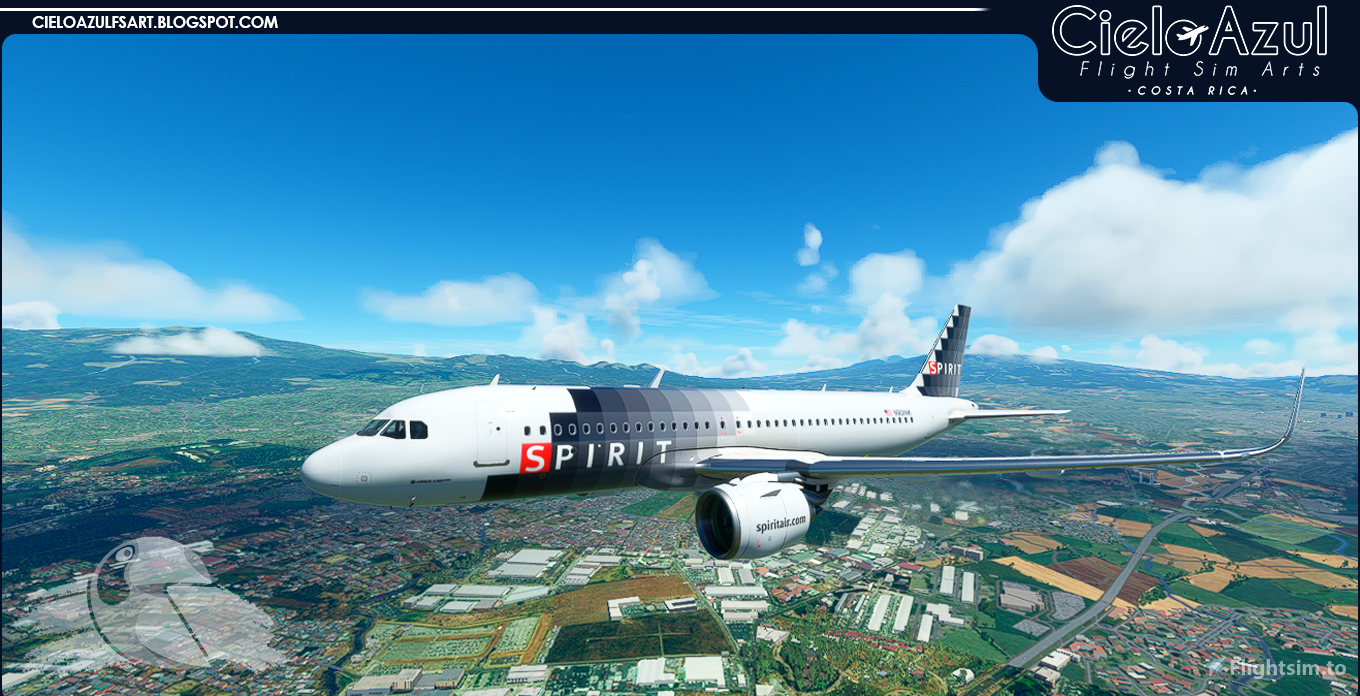 Spirit Airlines | Package | Asobo Airbus A320neo (8K)