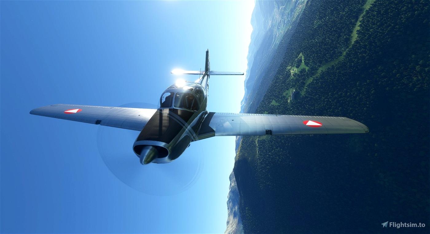 Piaggio P.149 Austrian Air Force 3E-AB