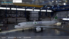 A32NX St. Peter Lifeplans A320 Image Flight Simulator 2020