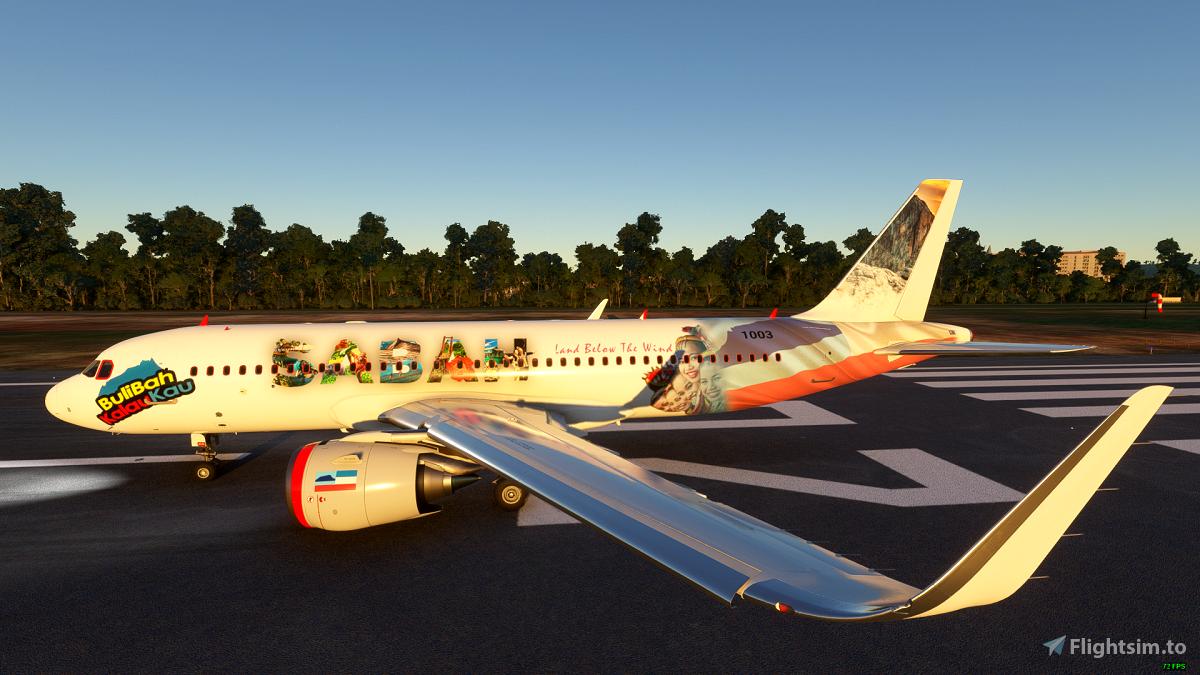 SABAH100 Flight Simulator 2020